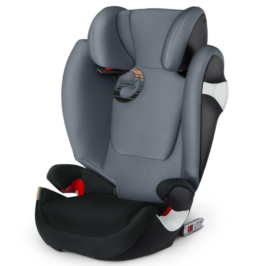 cybex GOLD Kindersitz Solution M-fix Pepper Black-dark grey