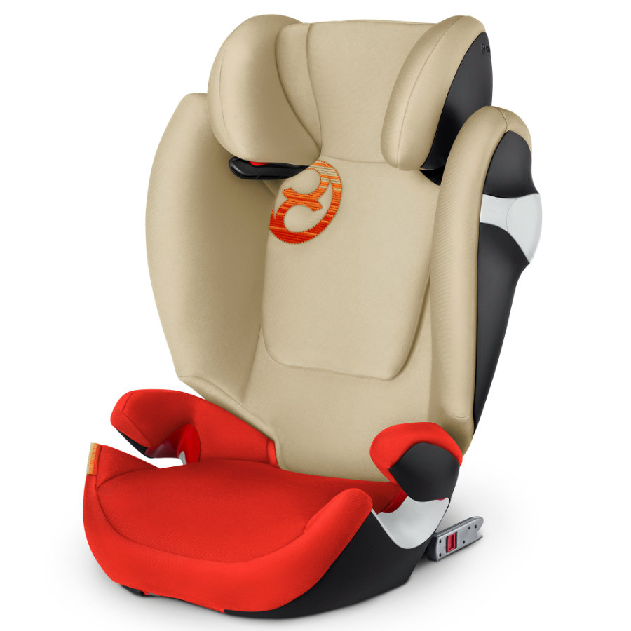 cybex Bilbarnstol Solution M-fix Autumn Gold-burnt red