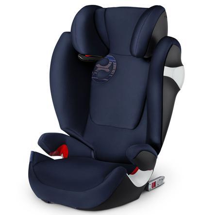 cybex GOLD Fotelik samochodowy Solution M-fix Denim Blue-blue