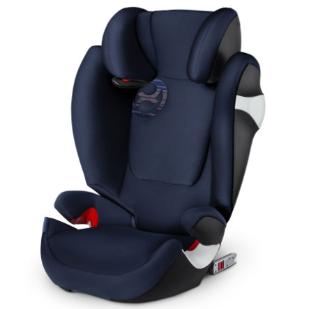 cybex GOLD Kindersitz Solution M-fix Denim Blue-blue