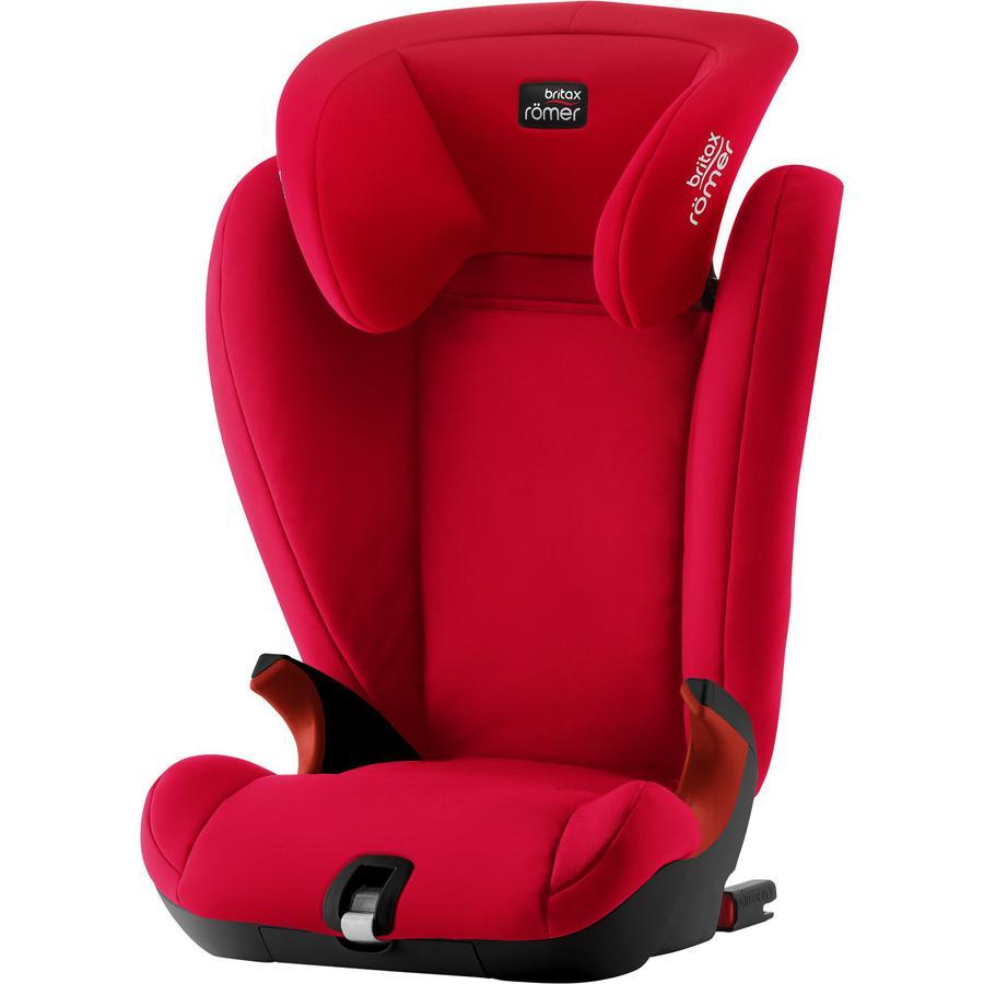 Britax Römer Kindersitz Kidfix SL Black Series Fire Red