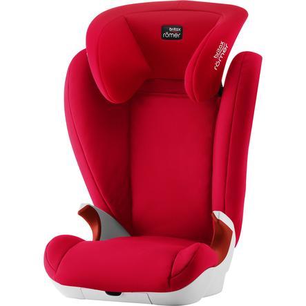 Britax Römer Silla de coche Kid II Fire red - rojo
