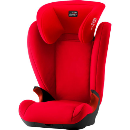 Britax Römer Kindersitz Kid II Black Series Fire Red