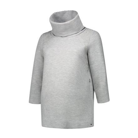 LOVE2WAIT T-shirt Stillsweatshirt Broderie gris