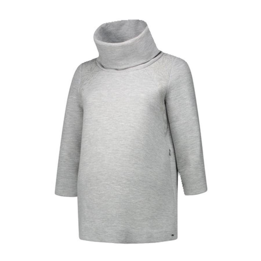 LOVE2WAIT  Stillsweatshirt Výšivka šedá