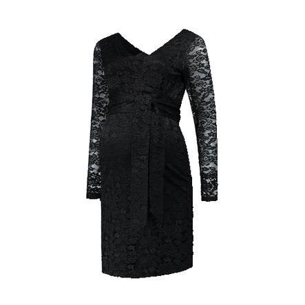 LOVE2WAIT Sukienka ciążowa Stretch Lace Black