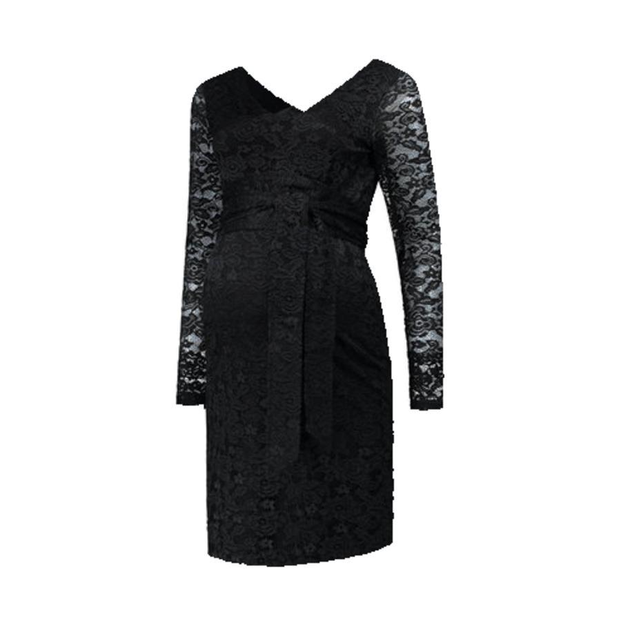 LOVE2WAIT  Těhotenské šaty Stretch Lace Black