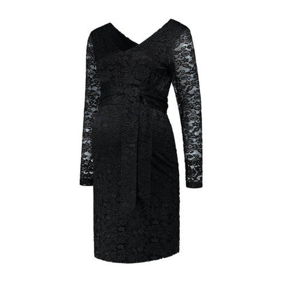 LOVE2WAIT Vestido de embarazada Stretch Lace Negro