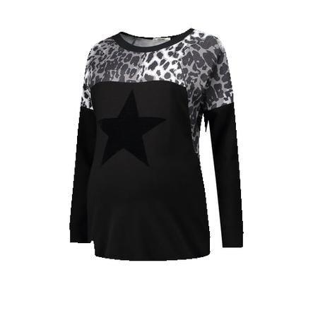 LOVE2WAIT Sudadera Stillsweatshirt Animal negro