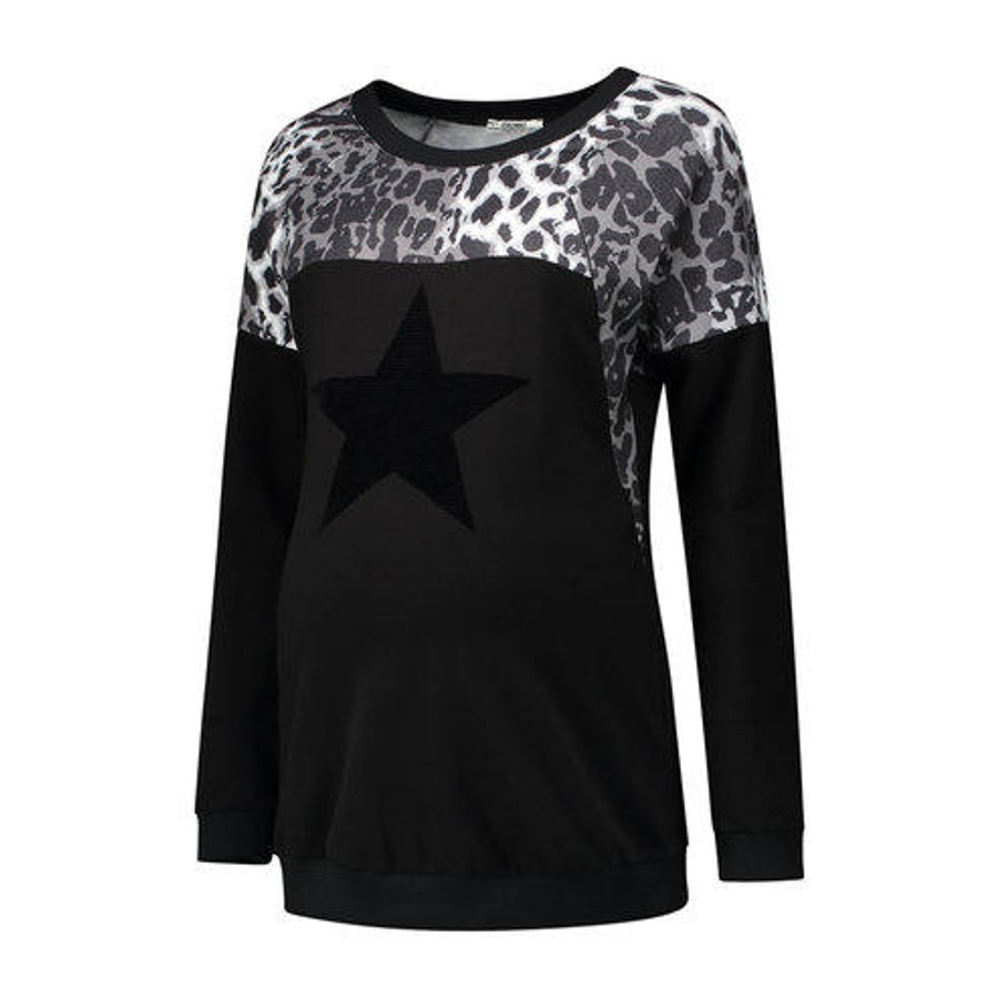 LOVE2WAIT Stillsweatshirt Animal black