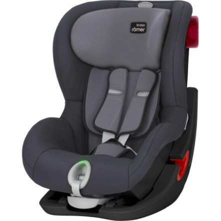 Britax Römer Kindersitz King II LS Black Series Storm Grey