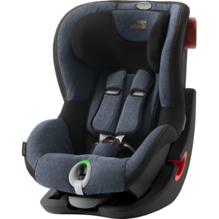 Britax Römer Kindersitz King II LS Black Series Blue Marble