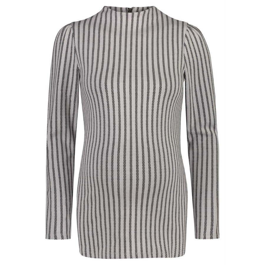SUPERMOM Sweater Stripe Off White (pasek swetra)
