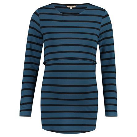 noppies Stillshirt Moon blue stripe