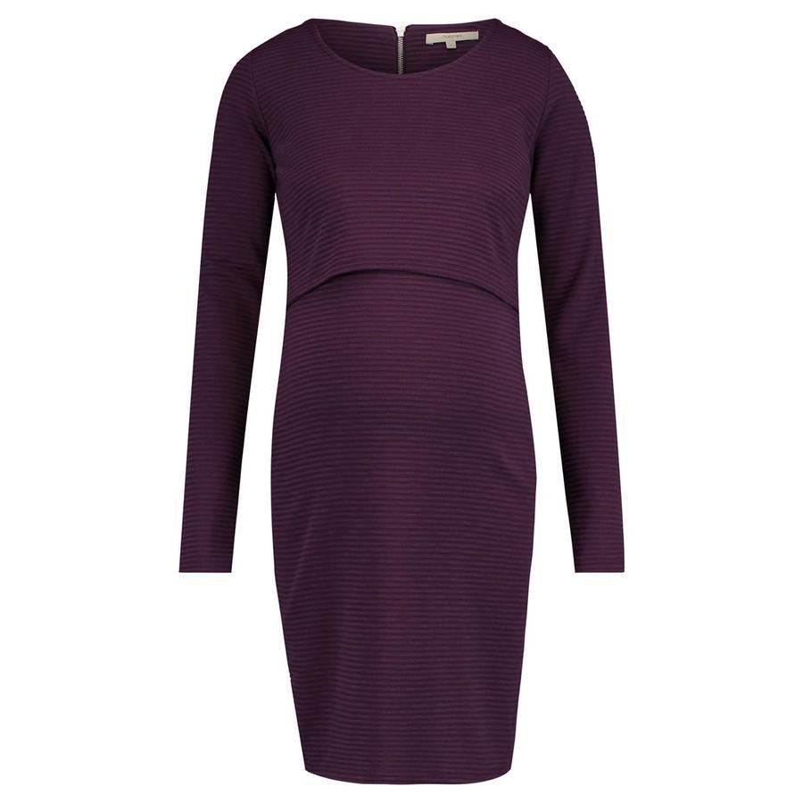 noppies těhotenské šaty Mena dark purple
