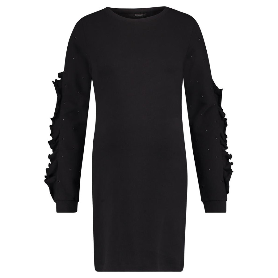 SUPERMOM Moederschap jurk flounce