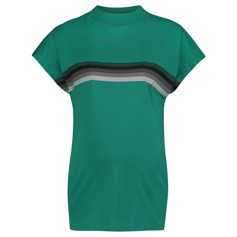 SUPERMOM T-skjorte Stripe B høyre Grønn