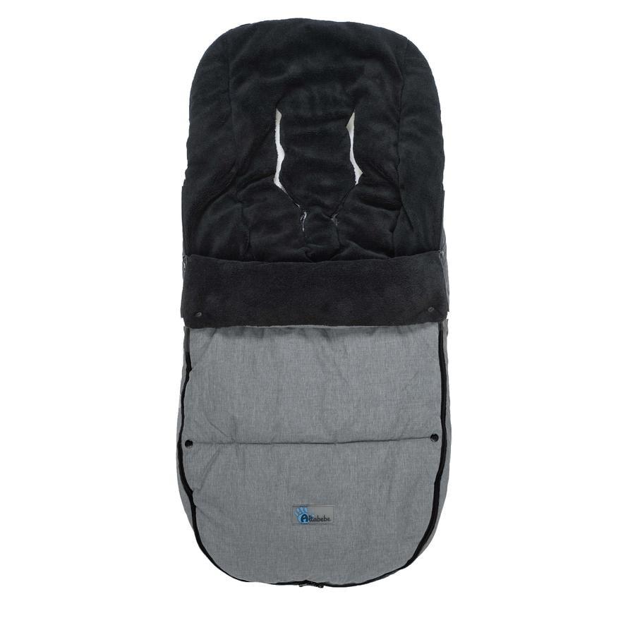 Altabebe Vinterkørepose til Bugaboo lysegrå-sort