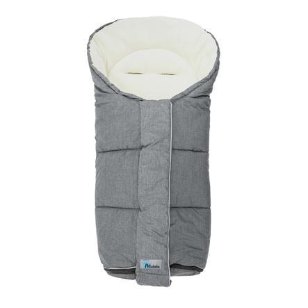 Altabebe Chancelière hiver pour poussette Alpin, gris clair/whitewash