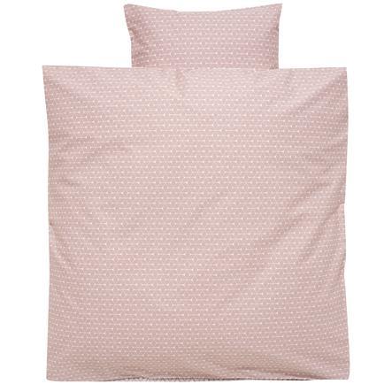 Alvi Ropa de cama 80 x 80 cm, Rombo rosa