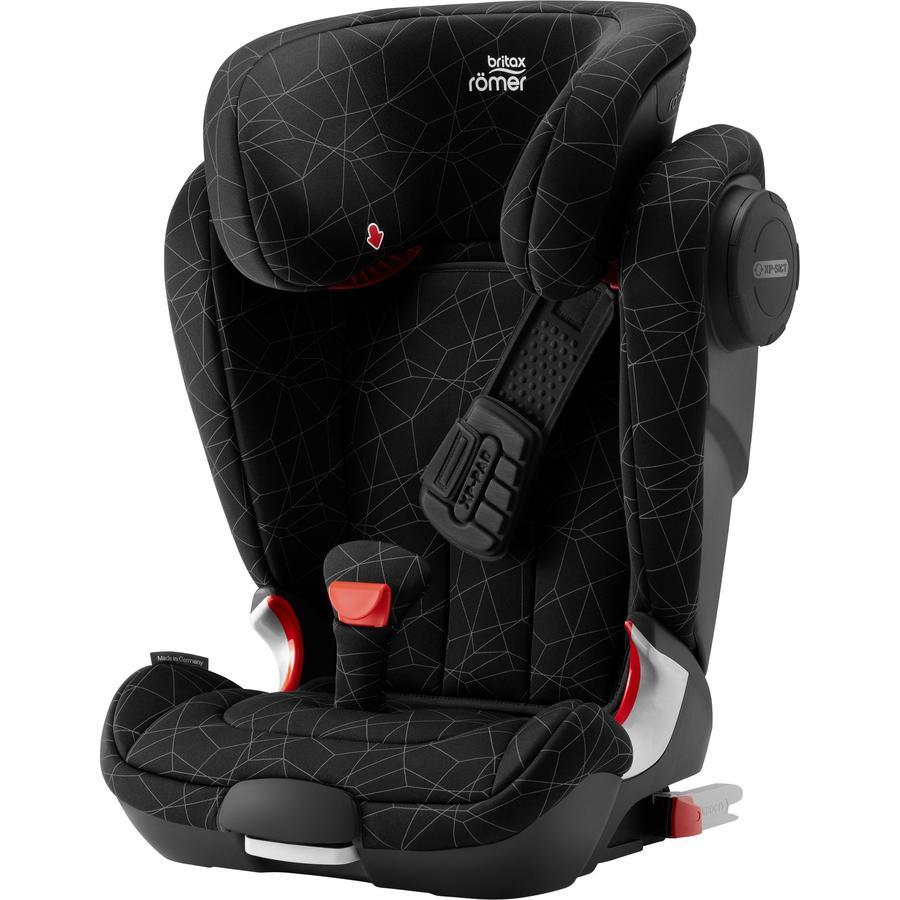 Britax Römer Kindersitz Kidfix II XP SICT Black Series Crystal Black