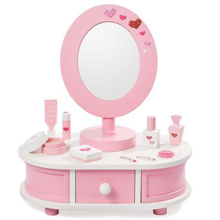 howa® Sminkbord Little Lady med tillbehör pinkorblue.se