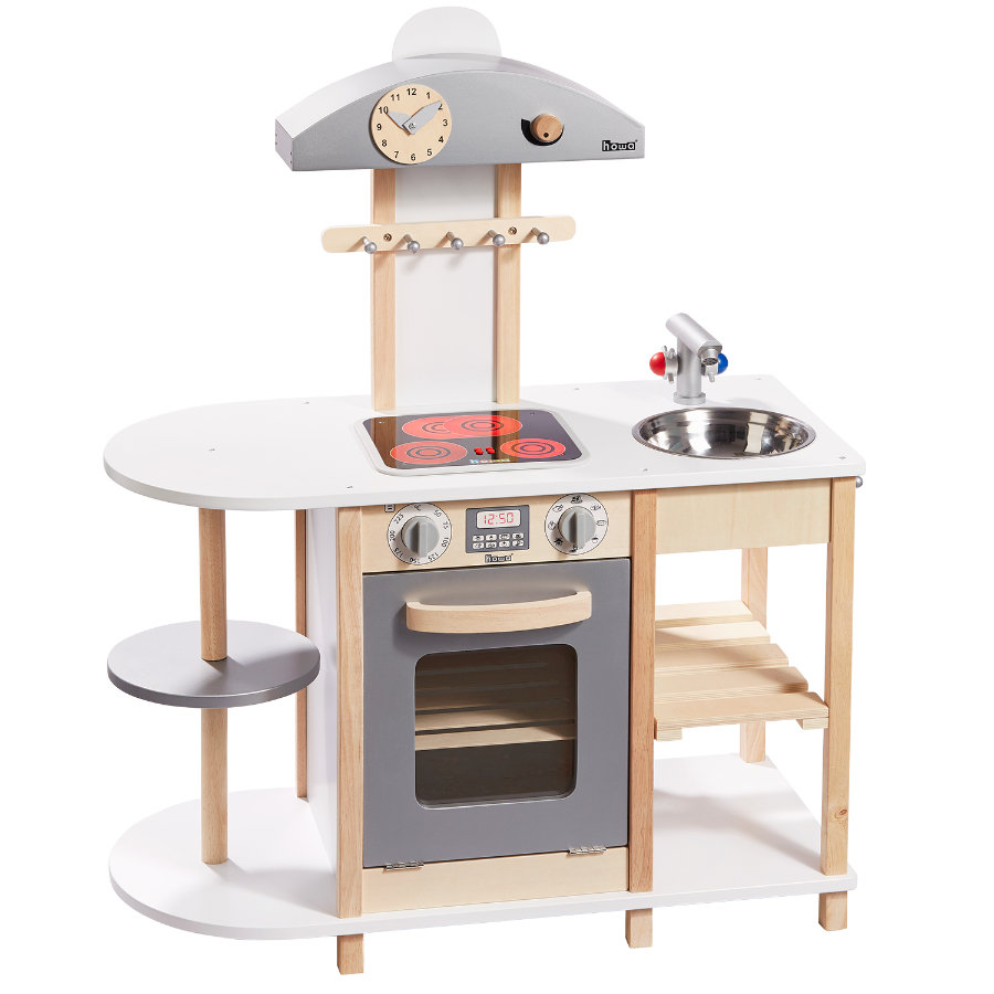HOWA® Leikkikeittiö Deluxe, Led-keittotasolla