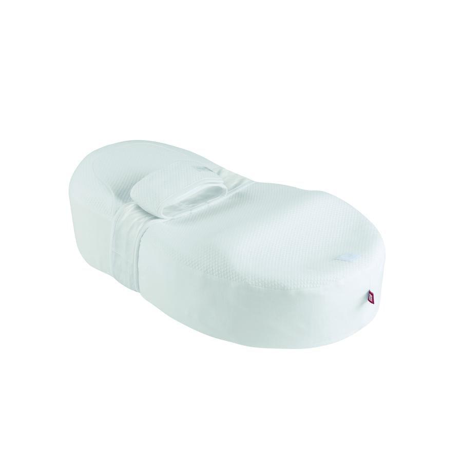 RED CASTLE Cocoonababy®-Fleur de coton® Almohada cuña blanco