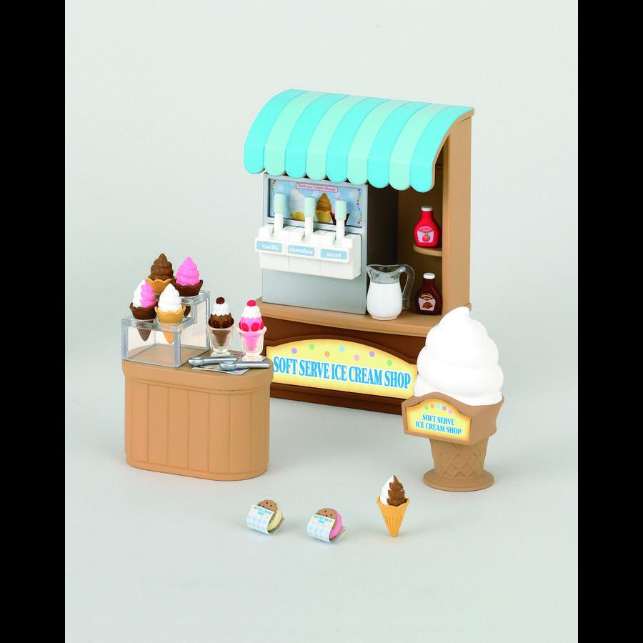 Sylvanian Families® Softijs-winkel