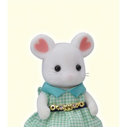 Sylvanian Families® Figurine souris : Stephanie Marshmallow 5364
