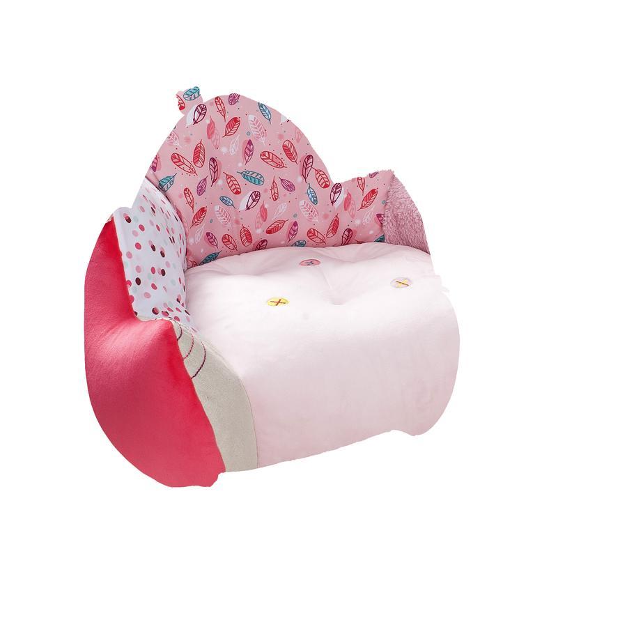 Lilliputiens Fauteuil club enfant Louise la licorne rose