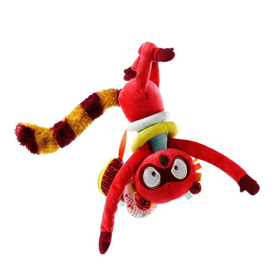 Lilliputiens Aktivitätsspielzeug für Babyschale Georges, der Lemur
