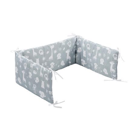 Alvi Nestchen Standard 180 cm, Zootiere puderblau