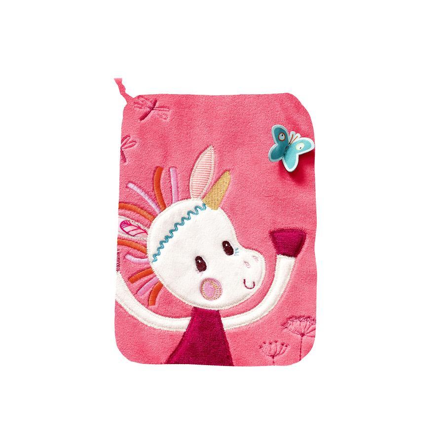 Lilliputiens Protège carnet de santé Louise la licorne rose