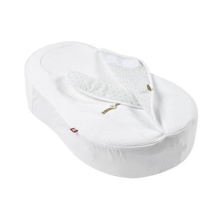 RED CASTLE Cocoon acover Fleur de Coton® valkoinen vuorattu