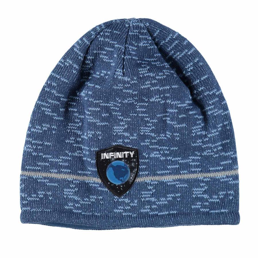 maximo Boys Bonnet Space bleu graphite