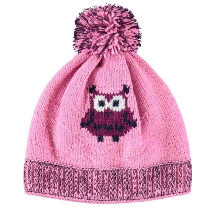 maximo Girl s cap owl rosebloom/auberginemelliert