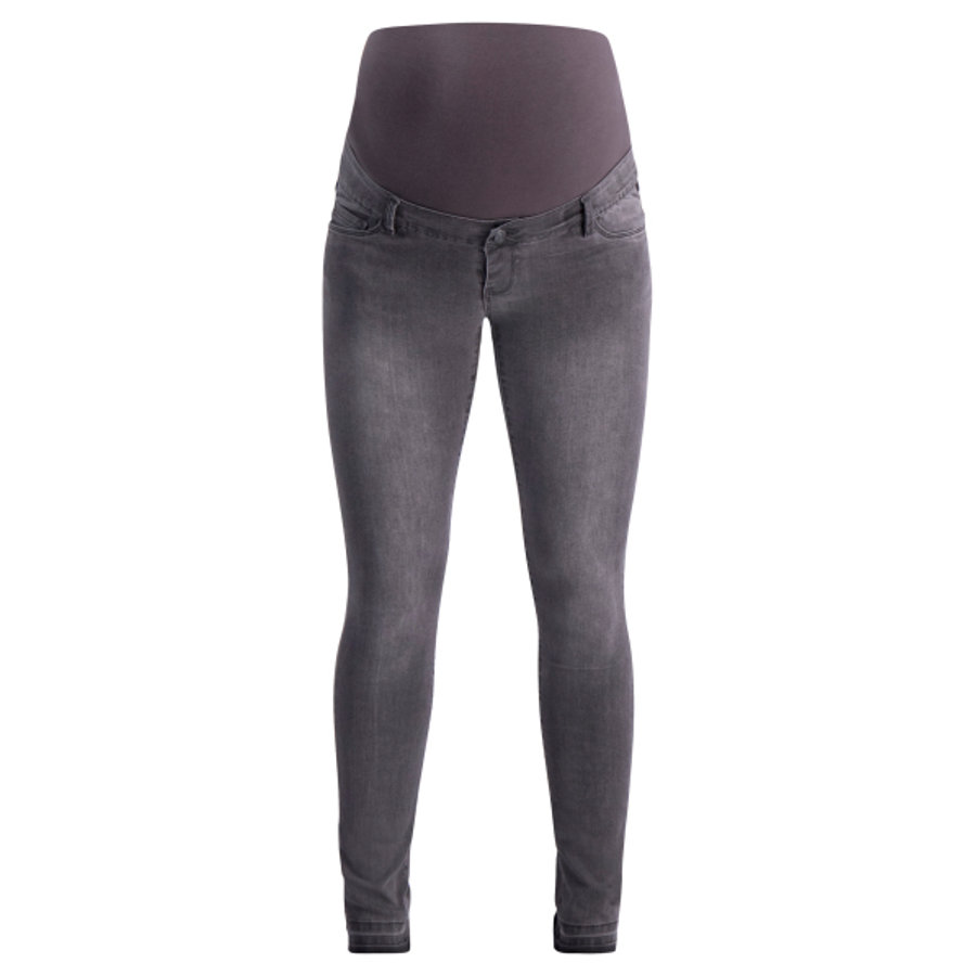 SUPERMOM Jean de maternité Jean Skinny Feather soft Grey Denim