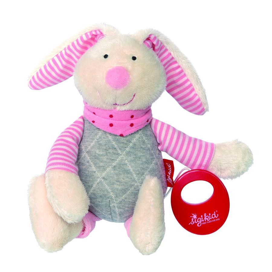 sigikid® Spieluhr Hase rosa, Urban Baby Edition