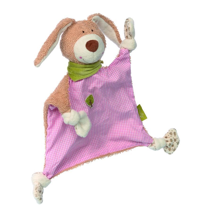 sigikid® Schnuffeltuch Hase, Green