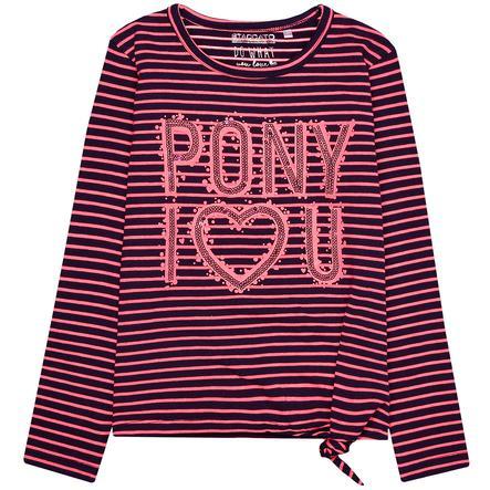 STACCATO Girls Sweatshirt navy Streifen