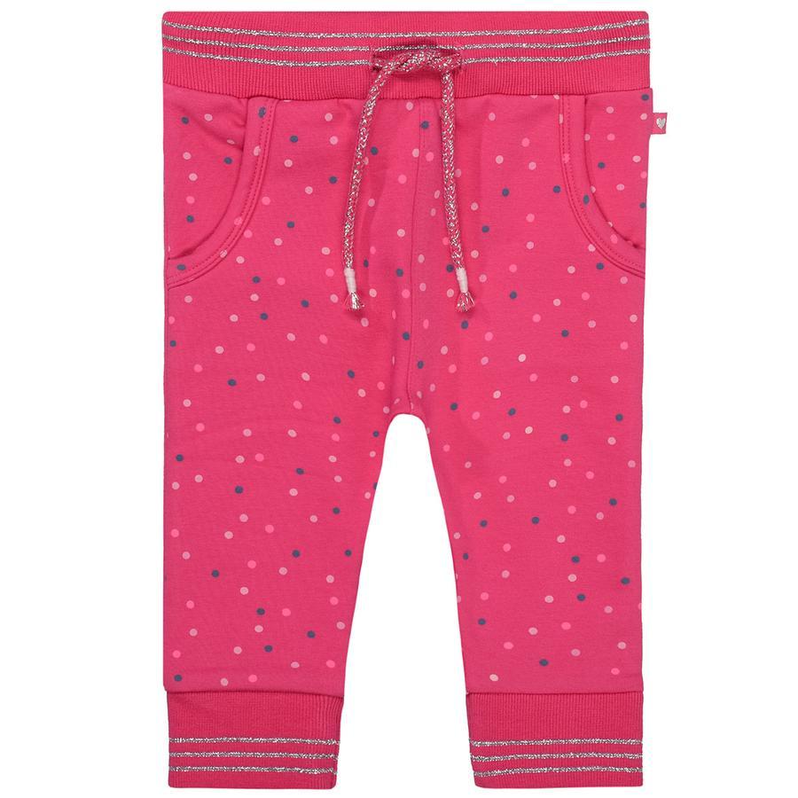 STACCATO Girl s jogging pantalons de jogging framboise alloverprint