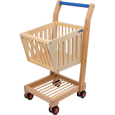 small foot® Carro de la compra , madera natural