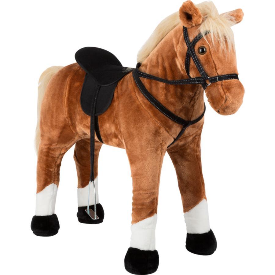 small foot®  Koń stojący z dźwiękiem, brązowy