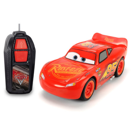DICKIE Toys Voiture radiocommandée Cars 3 Flash McQueen Single Drive