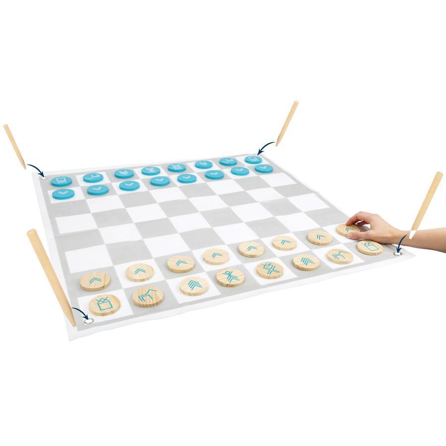 small foot  Damas y ajedrez Active