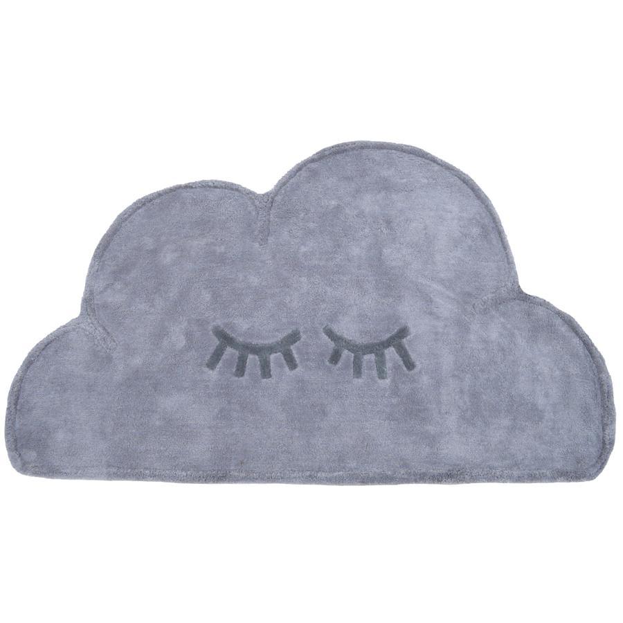 LIVONE Happy alfombra de juego y de niños Alfombras Cloud , gris, 60 x 110 cm