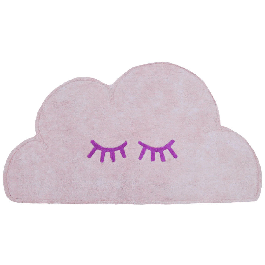LIVONE Barnmatta Happy Rugs Cloud, rosa, 60 x 110 cm