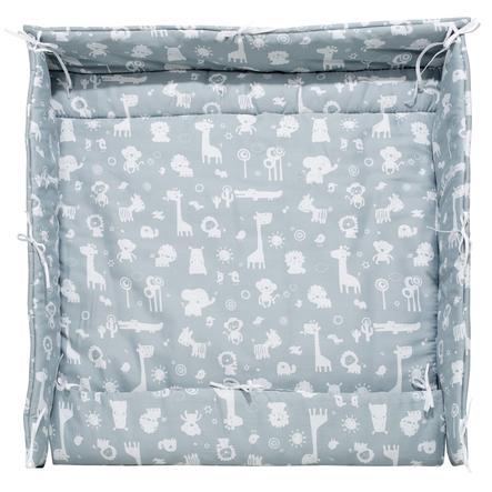 Alvi deka do ohrádky zvířátka ze zoo pudrově modrá 70 a 100 cm