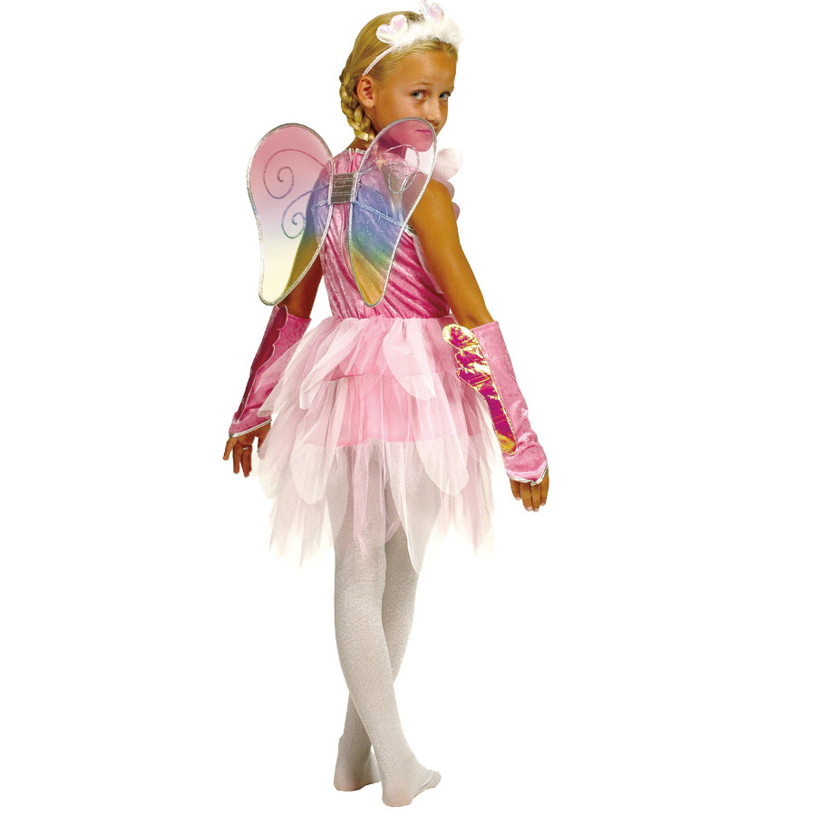FUNNY FASHION Carnival Costume FAIRY pink
